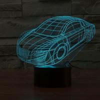 minion ışıkları toptan satış-Yeni Despicable Gece Işık Gülümseme Minions 3D DIY Duvar Sticker Lamba Kontrol Ev Dekorasyon Sıcak Işık Noel Partisi Hediyeleri