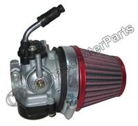 filtro de ar do carburador venda por atacado-Venda por atacado - 14 milímetros Carburador Para Dellorto SHA 14 Aftermarket com Lever Choke filtro de ar Targa LX Tomos A35 Sprint Colibri