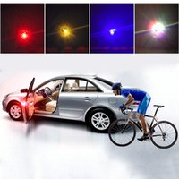 Wholesale Car Door Anti Collision - Car Door Warning Lights LED Decorative Lights Anti-rear-end Flash Lights Safe Open Door Anti-collision Sensor Universal Car