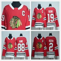 c0dbfe70e Ice Hockey Men Full 2017 New Style #88 Patrick Kane 2018 Chicago Blackhawks  Jerseys Ice