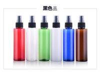 Wholesale Wholesale Pet Pump Bottles - wholesale 100ml Empty PET Plastic Spray Bottle Perfume spray bottle packing containers Latex bottle free shipping