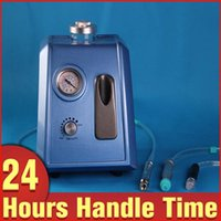 Wholesale Hydro Peeling Facial - Blue Color 2in1 Microdermabrasion Dermabrasion Hydro Peeling Vacuum Facial Peeling Care Spa Skin Lifting Beauty Machine