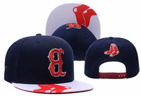 Wholesale New Trukfit Caps - 2016 new arrival Red Sox Snapback Caps Adjustable All Team Basketball Hats Black Trukfit Hip Hop Snapbacks High Quality Players Sports