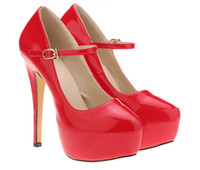 Wholesale Hot Club Heels - New simple and comfortable candy color matt PU waterproof single shoes The new Roman club hot style