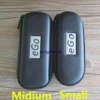 Wholesale Ego Mt3 Start Kit - E Cig Accessories Ego case Zipper Case Leather Bag for ce4 mt3 evod atomizer and ego-t ego-w ego-F carry bag Ego Start Kit