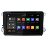 Wholesale Skoda Din Android - Joyous(J-9813-8Y) Quad Core 1024*600 2 Din Android 5.1 Car DVD Player GPS Navigation For VW Skoda Polo GOLF Passat Jetta (with canbus)
