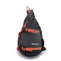 Wholesale Diagonal Bags - Wholesale-ENKNIGHT Waterproof Chest Bag Sling Bag Hiking Daypack Nylon Diagonal Package Messenger Shoulder Running Outdoor Back Pack Bags