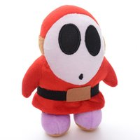 Wholesale Stand Action Toy - Wholesale-Cool! Standing Cartoon Super Mario Stuffed Animal Toys Action Characters Dolls Toys 7'' New