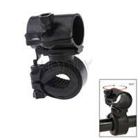 Wholesale Rotation Torch Clip - Portable Cycling Bike Bicycle Light Lamp Stand Holder Rotation Grip LED Flashlight Torch Clamp Clip Mount Bracket Accessories #4174