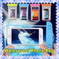 Wholesale Galaxy S Battery Case - Universal Waterproof iphone 6s Cases CellPhone Dry Bag Galaxy S7 Cases for iphone 6 S PLUS Samsung S6 S7 edge S5 High Quanlity.