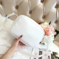 Wholesale Women Fancy Bags - New Fashion Women Luxury Totes Handbags Letter Fancy bag Cross Body Designer Saddle Bag Brand Leather Shoulder Bag Totes 23 CM
