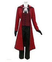 ingrosso panno jazz-Cosplay Anime Black Butler Grell Sutcliff Jazz Cloth Cosplay