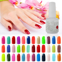 Wholesale Uv Gel Pcs - IDO Gelish 12 Pcs Lot Nail Art Soak Off UV LED Gel Nail Polish Foundation Top Coat 220 Colours