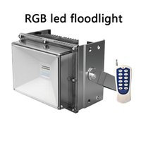 luz de inundación llevada rgb ip67 al por mayor-NUEVO 2016 48W RGB led reflector RGB luces LED Luces decorativas luces decorativas con control remoto RGB inalámbrico a prueba de agua IP67