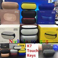 Wholesale nfc key - K7 Touch Keys NFC Best Stereo Subwoofer Mini Protable Bluetooth Wireless Speakers Mini Speakers TF Card U-disk MP3 Player VS K1 K3 K5 K8 K9