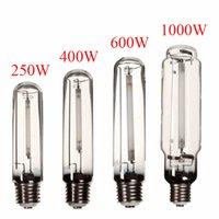 Wholesale Pressure Sodium - Modern Design E40 250W 400W 600W 1000W HPS Lamp White Light High Pressure Sodium Flower Bulb Plant Grow Light For Ballast