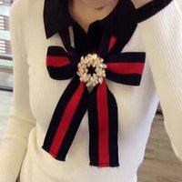 Wholesale Trendy Women S Sweaters - HIGH QUALITY Trendy 2016 Fall Winter Designer Sweaters Women Long Sleeve Bow Knitting Bodysuit Pullover Tops