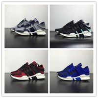 Wholesale Cream Equipment - New fashion top mens womens black pink EQUIPMENT SUPPORT ADV knit eqt Outdoor Shoes top quality 2018 EQT knit Breathability nmd shoes 36-44