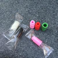ingrosso punta di prova usa e getta-Confezione individuale 510 test tip Bocchino in silicone Usa e getta gocciolatoio Puntali colorati in gomma siliconica Test drip tip per serbatoio cig