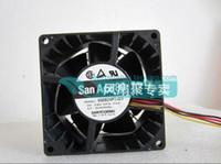 Wholesale Large 24v Fans - Original SANYO 24V 0.56A 8CM80*80*38 9G0824P1G03 4 line of large air cooling fan