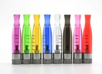 Wholesale Ego T Clearomizers - High Quality H2 Atomizer H2 Clearomizers 8 Colors for choosen Fit EGO-T EVOD Batteries Replaceable Atomizer 2.4 ml