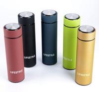 lebenschale großhandel-LIFE 2016 neue qualität 5 farben elegante 304 doppelstock edelstahl thermos tasse drinkwaren watter flasche umweltfreundlich