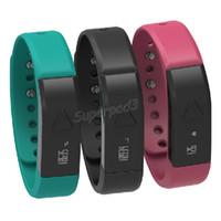 mejor reloj rastreador al por mayor-I5 Fitness Tracker Pulsera inteligente Prenda impermeable Portátil Pulseras inteligentes Bluetooth Smart Phone Watch Para Iphone Samsung el mejor amigo regalo