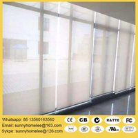 Wholesale Top sale diy motorized roller blind curtain wireless remote control size customed compatible with Lutron system