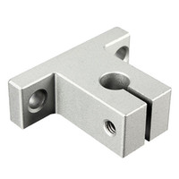 Wholesale Linear Support 8mm - Wholesale- 1Pc SK8 8mm Linear Rail Shaft Support Block For Cnc Linear Slide Bearing Guide CNC Parts VED82 P0.11
