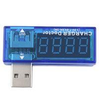 горячий ток оптовых-Качество новый горячий Цифровой USB зарядное устройство доктор мобильный тестер батареи питания детектор напряжения Измеритель тока
