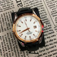 Wholesale Hand Watches Women - Hot Items Women Man watch Lady Wristwatches Genuine Leather Luminous hands Japan Movement 15pcs DHL free Foreign trade sales Unisex Watches