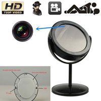 Wholesale Mirror Motion Detection DV Spy Video Camera Hidden DVR Cam Camcorder HD SPY Hidden Home Mirror Camera DVR