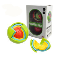 Wholesale Wisdom Smart - Wisdom ball 3D smart maze assembly magic ball assembly ball puzzle DIY gift decompression puzzle toys