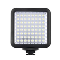 Wholesale yongnuo video light - Godox LED64 LED Video LED Lamp for DSLR Camera Camcorder mini DVR as Fill Light for Wedding News Interview Macro photography DHL free ship