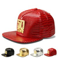 Ball Cap spring maps - New designer hip hop rockstar CENT fitted hats with rhinestones PU leather women men s winter baseball caps unsex map free ship