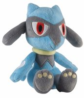 Wholesale peluche toy - Wholesale- Hot Sale 7-9inches Comic small plush, Riolu,Toys for Children's Gift Cartoon Peluche Comic Plush Doll