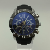 Wholesale High Quality Rubber Watches - Big Dial replica Italy Luxury Fashion Brand Men s watches 3ATM Waterproof High Quality Rubber Band Sports Watch For Man Casual Dress Watches