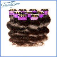 Wholesale Hair Peruvian 5a - hair factory clearance wholesale cheap 5a peruvian human hair body wave 1kg 20pieces lot natural black color 50g pcs