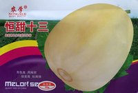 Wholesale Melons Seeds - Fruit seeds Constant sweet 13 melon seeds White melon Precocious high-yielding 10 grams bag melon seeds Rapeseed yield 200 grams bag