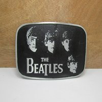 Wholesale Free Beatles - BuckleHome beatles belt buckle metal belt buckle with pewter finish plating FP-02965 free shipping