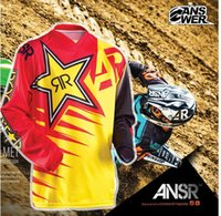 Wholesale Professional Bike Jerseys 4xl - 2017 2018 Tops Breathable MTB DH Downhill Clothing Professional Racing Jersey Long Sleeve moto Jersey bike