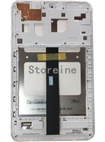 Wholesale asus led screen - LED LCD Touch Screen Digitizer Assembly WHITE For ASUS MEMO PAD 8 ME181CX K011