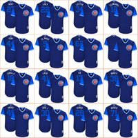 Wholesale Addison Russell - 2017 Chicago Cubs Players Weekend Jersey Nickname Javier Baez Kyle Schwarber Kris Bryant Ben Zobrist Jason Heyward Addison Russell Anthony R