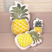 Wholesale latex pillows - Personality Fruits Pillow Bedroom Sofa Decorative Articles Comfortable Cacti Car Soft Cushion Birthday Gift For Children 14 1bm C R