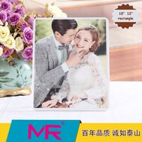 Wholesale Piano Photos - 10 and 12 inch 3D diamante embroidered photo frame eco -piano paint printed friendly material with Korean crystal polishing technology