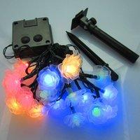conchas usadas venda por atacado-Feliz natal luzes flowler shell LED faixa de natal luz férias decoração LED fada jardim luzes Ip65 ao ar livre usando