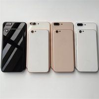 Wholesale Fit Back Door - For iPhone 6 6 plus Housing Battery Door Like iPhone 8 8 plus style Housing Battery Back Cover Replacement Perfectly Fit
