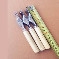 punzón de cuero envío gratis al por mayor-Envío libre, 2mm artesanal de cuero artesanal hecho a mano de cuero de la aguja de coser rueda Punch Herramientas Kit de costura