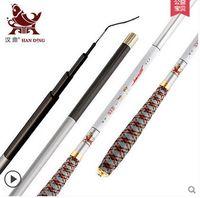 Wholesale Cheap Pole Rods - Cheap fishing rod superhard carbon ultralight fishing rod carp rod tune hand pole fishing rod fishing tackle supplies kit