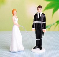Tie Up Love Theme Wedding Cake Topper Matrimonio Topper Matrimonio regalo cake topper decorazioni per torte di nozze 2016 Style giugno